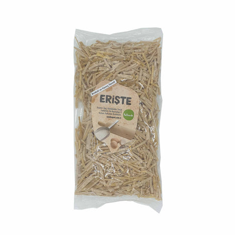 Erishte (Turkish Egg Noodle) with Carrot and Broccoli 350g