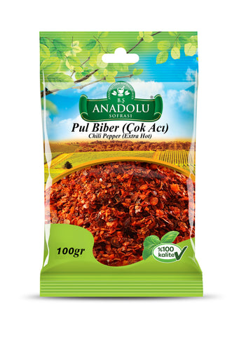 Chili Pepper Hot 100g - samnaturaluk