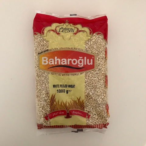 Baharoglu White Peeled Wheat 1kg