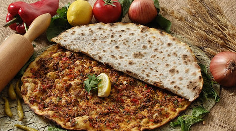 Antepliler Lahmacun with Garlic (10x)