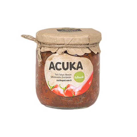Spicy Pepper Spread (Acuka) All Natural  425g