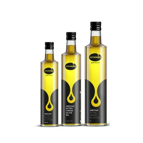 Cretan Extra Virgin Olive Oil 1L-Glass - samnaturaluk