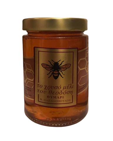 Greek Raw Natural Thyme Honey 500gr
