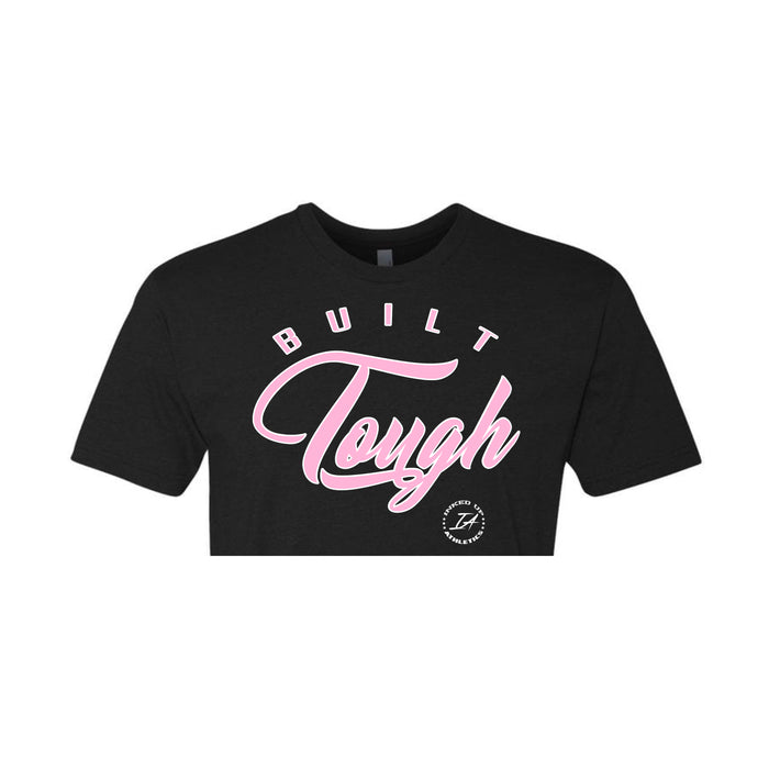 BUILT TOUGH CROPPED TEE - BLACK