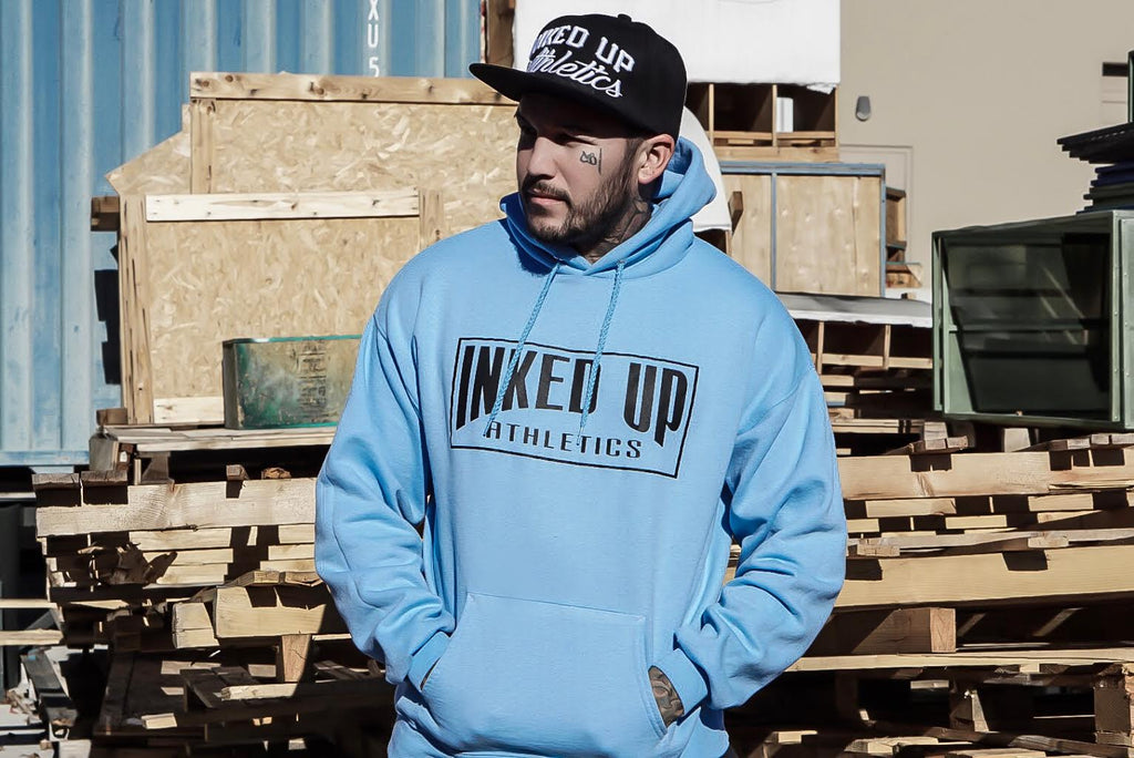 CLASSIC PULLOVER HOODY - LIGHT BLUE