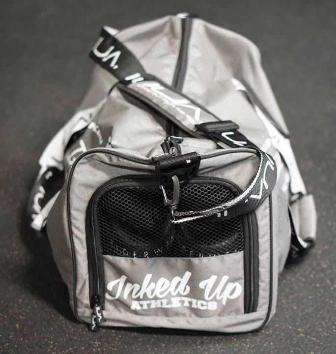 UTILITY DUFFEL BAG - GRAY