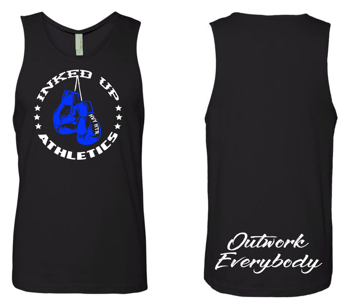 OUTWORK EVERYBODY TANK - BLACK / BLUE