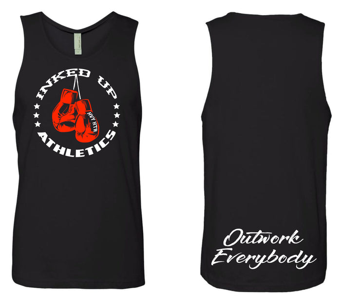 OUTWORK EVERYBODY TANK - BLACK / RED