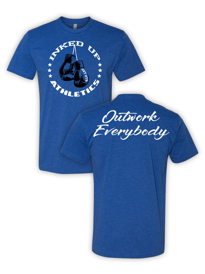 OUTWORK EVERYBODY TEE - BLUE