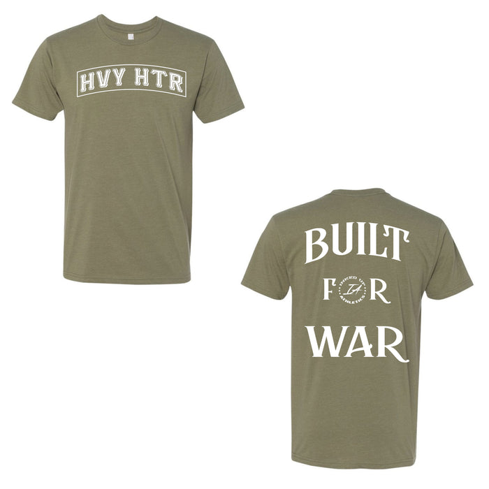 HEAVY HITTER TEE - OLIVE GREEN