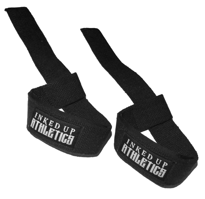 WEIGHT LIFTING STRAPS - BLACK