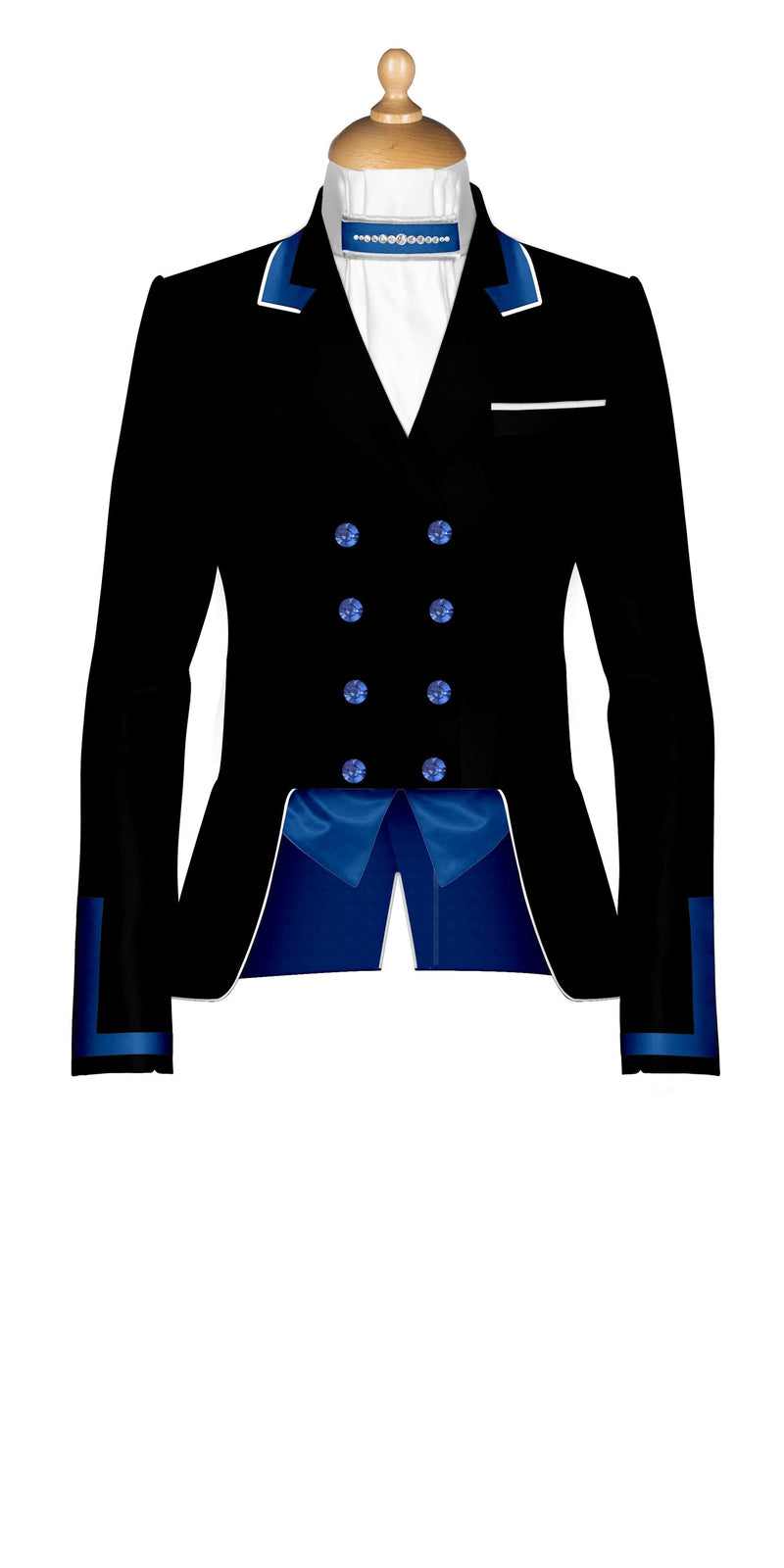 Customise your Catherine short Tailcoat £575.00 deposit £150.00