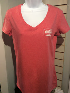 Newport Original Women's V-neck T-shirt, small logo