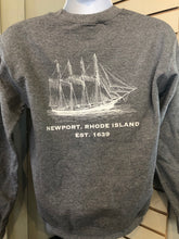 Load image into Gallery viewer, Newport Original Schooner Crew Neck Sweatshirt