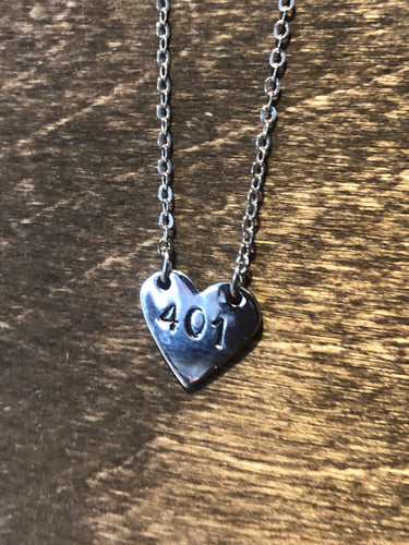 Made by Bonnie 'For the Love of 401' Necklace