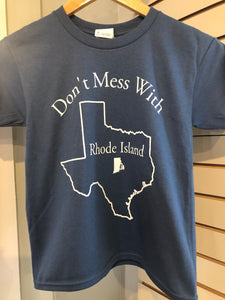Don't Mess With RI Youth T-shirt