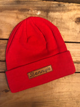 Load image into Gallery viewer, Benny's Beanie, Leather Logo