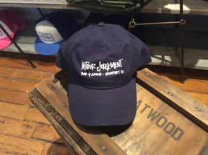 Pour Judgement Hat Navy