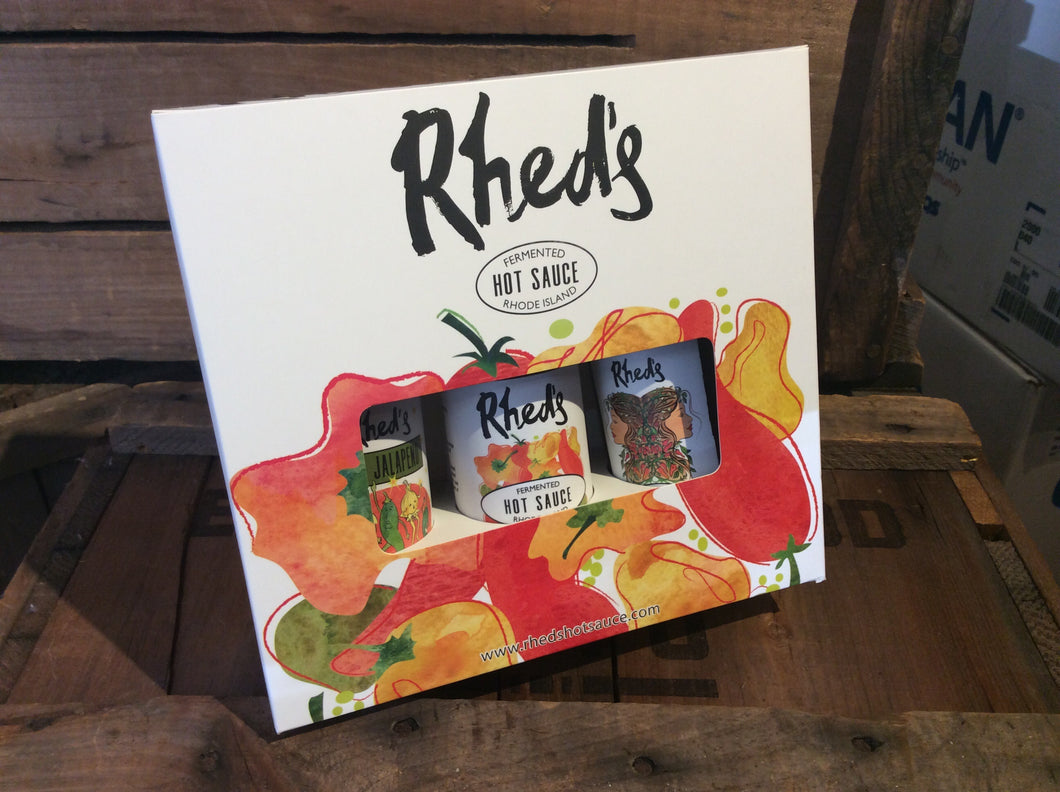 Rhed's Hot Sauce Gift Set