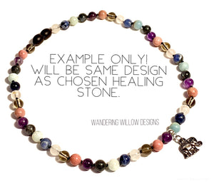 Back-off Negativity Healing Stone Jewelry