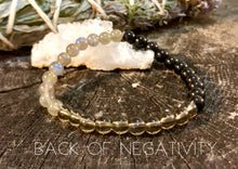 Load image into Gallery viewer, Back-off Negativity Healing Stone Jewelry
