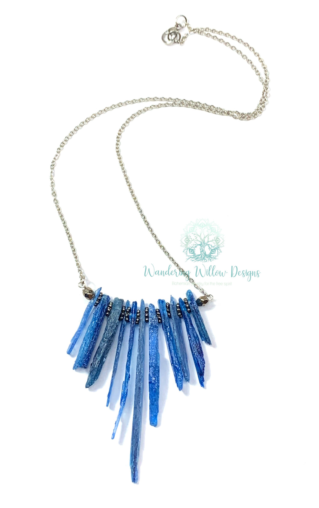 Kyanite Goddess Necklace