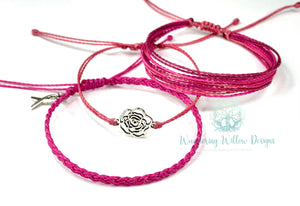October-Breast Cancer Awareness Gratitude Bracelets
