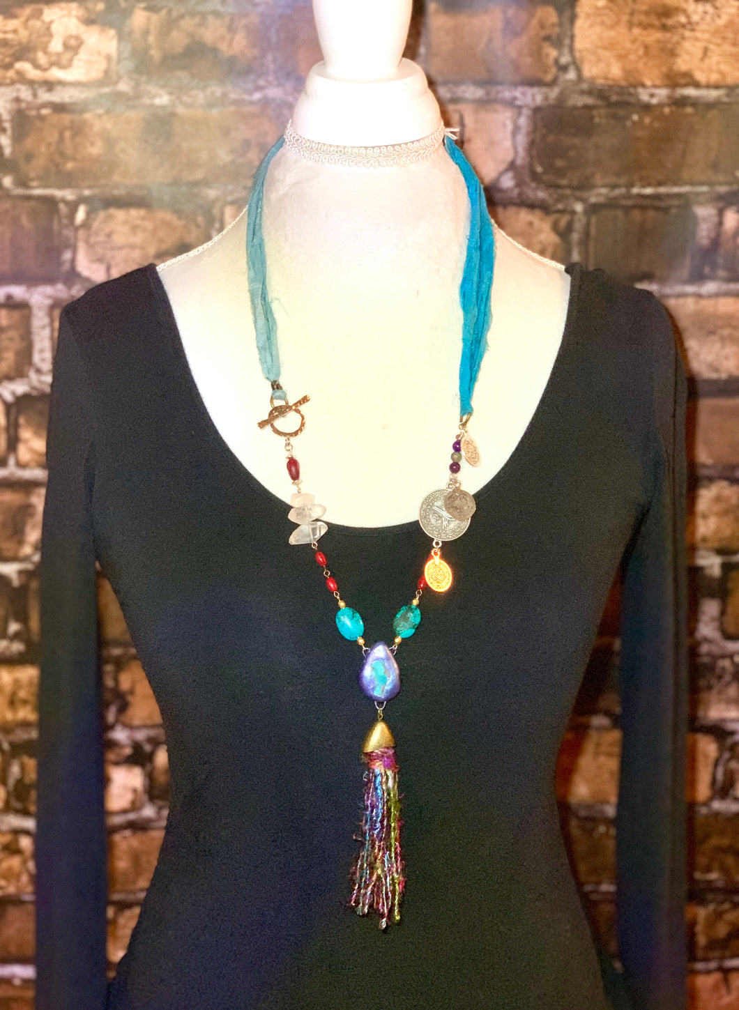 Reclaimed Earth Recycled Necklace