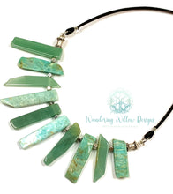 Load image into Gallery viewer, Green Goddess Necklace