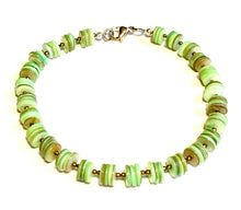 Load image into Gallery viewer, Green Puca Boho Anklet-June Promo