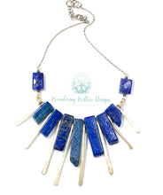 Load image into Gallery viewer, Lapis Lazuli Goddess Necklace