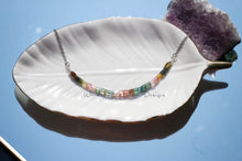 Load image into Gallery viewer, Ombré Tourmaline Infinity Necklaces