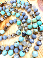 "Load image into Gallery viewer, 52"" Crystal Imperial Jasper Mala"