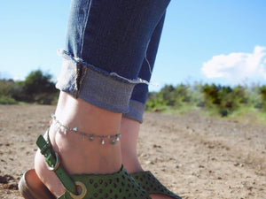 Delicate Apatite Gypsy Anklet-June Promo
