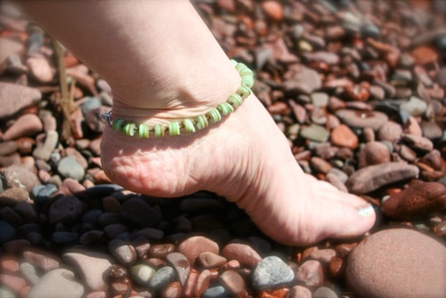 Green Puca Boho Anklet-June Promo