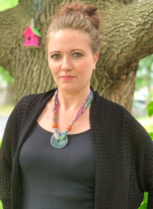 Sari Moss Festival Necklace