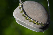 Load image into Gallery viewer, Peridot Tear Necklace
