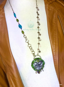 Mother Nature Recycled Necklace