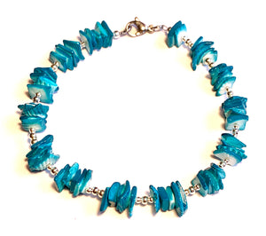 Turquoise Puca Boho Anklet-June Promo