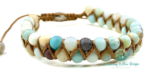 Weaved Lyra Adjustable Bracelets