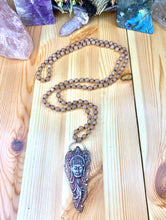 "Load image into Gallery viewer, 36"" Garnet Sands Druzy Mala"