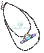 Load image into Gallery viewer, Framed Fluorite Necklace