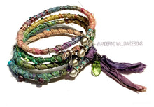Load image into Gallery viewer, Recycled Sari Bangle SET