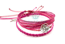 Load image into Gallery viewer, October-Breast Cancer Awareness Gratitude Bracelets