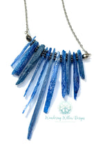 Load image into Gallery viewer, Kyanite Goddess Necklace