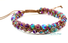 Load image into Gallery viewer, Weaved Lyra Adjustable Bracelets