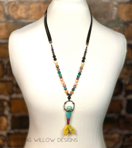 Mermaid Mixed Style Necklace