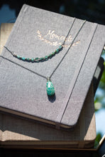 Load image into Gallery viewer, Russian Amazonite Tear Necklace