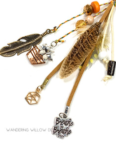 Feather College KeyChain