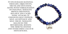 Load image into Gallery viewer, Sodalite Stretch Bracelet